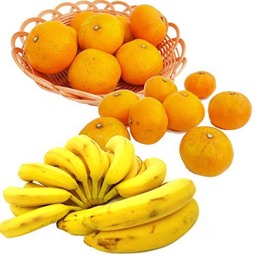 オーガニックバナナ・無農薬みかんセット  各2kg