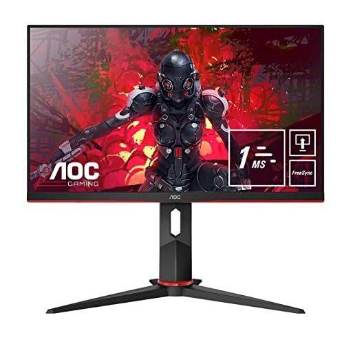 AOC 24G2U5/BK Monitor da Gaming Flat 23.8