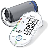 Beurer BM 55 Misuratore di Pressione da Braccio con Display XL Retroilluminato e Indicatore del Valore a...