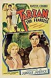 Malalpha Poster – Tarzan 1933 – Reproduktion Poster,