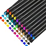 Colored Pens,Pens for Journaling No Bleed,Set of 24 Colors,Color Bullet Journal Pens for Note Taking,Drawing Pens Fine Point 0.4 mm