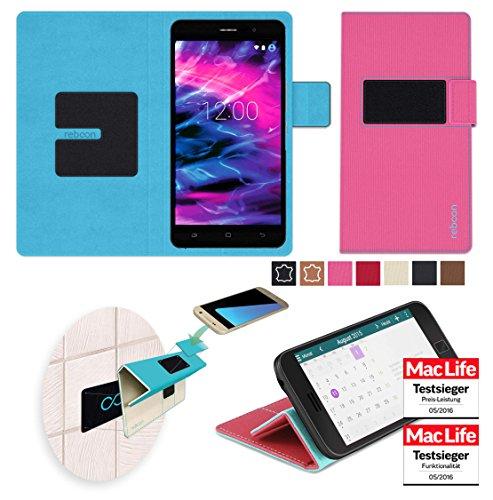 Hülle für Medion Life X5020 Tasche Cover Case Bumper | Pink | Testsieger