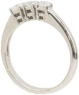 Gilu - Gioielli Anello Trilogy In Oro Bianco 18 Kt Con Diamanti