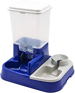 Pet Feeder 2 in 1 Automatic Water and Food Dispenser Dog Cat Self Feeding Bowl