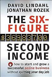 The six-Figure second income books cover