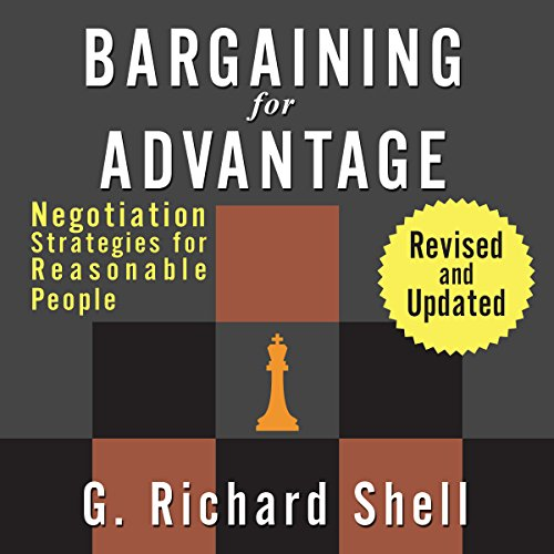 Bargaining for Advantage audiobook cover art