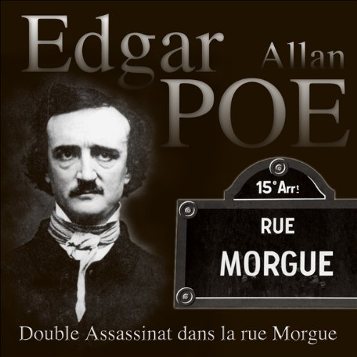 Double assassinat dans la rue Morgue  audiobook cover art
