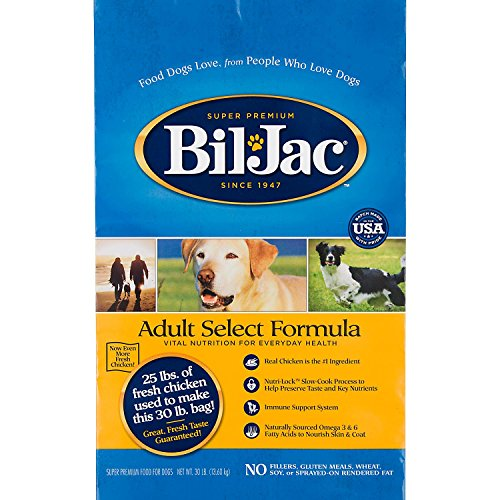 Bil-Jac 319055 Select Dry Food For Dogs, 30-Pound
