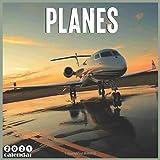Planes 2021 Calendar: Official Commercial Aircraft Wall Calendar 2021, 18 Months