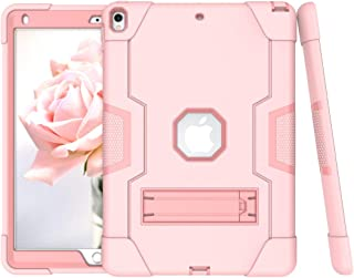 """A-BEAUTY Case for iPad Air 3rd Gen 10.5"""" 2019 / iPad Pro 10.5"""" 2017, with [Screen Protector] [Pen] [Shockproof] [Kickstand..."""