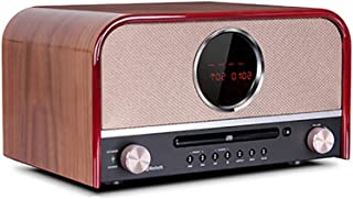 Portable FM Radio, Home Retro Fever CD Player, Mini Bluetooth Player Speaker Player, Timed Alarm Clock, Multi Play Mode