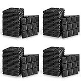 48 Pack - Acoustic Foam Panels, 2' X 12' X 12' Mushroom Studio Wedge Tiles, Sound Panels wedges Soundproof Sound Insulation Absorbing, 9 Block Mushroom Design