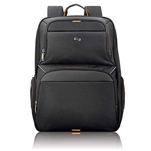 Solo New York UBN701-4 17.3 Inch Laptop Backpack, Black