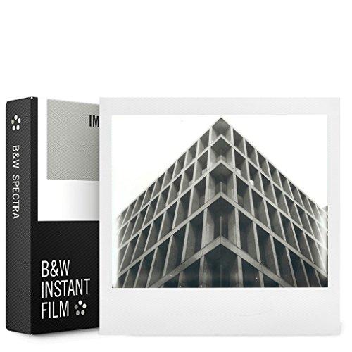 Imposible Spectra Color Polaroid película, Color Blanco (4518)
