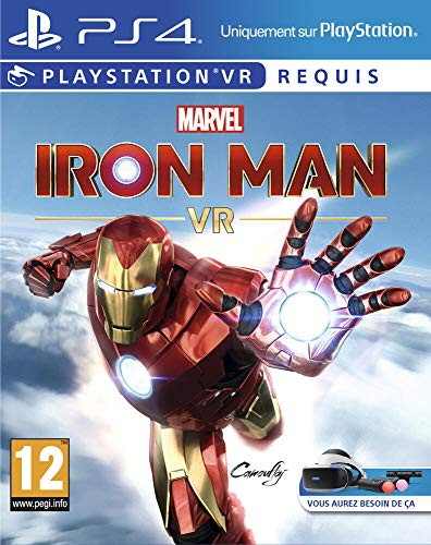 Marvel's Iron Man VR – PlayStation VR, Version physique, En français, 1 Joueur