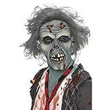 NET TOYS Masque de Zombie Monstre Loup d'halloween Tête de Zombie Qui Fait Peur Masque de...