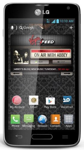 LG Optimus F3 4G LTE Mobile Phone Black | Virgin Mobile