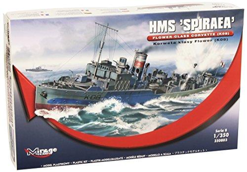Mirage Hobby 350803 – Fleur de HMS Spiraea Class Corvette, K08,, Bateau