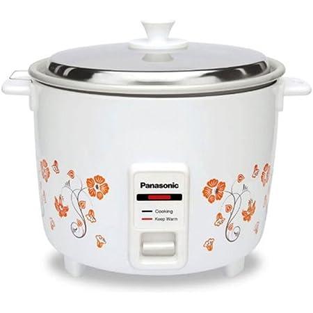 Panasonic SRWA18H(K) 660-Watt Electric Cooker, White, 4.4L