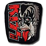 Verani Kiss Band Patch Embroidered Iron On Hard Rock Heavy Glam Metal for Shirt Hat Cap Hoodie Top Tang