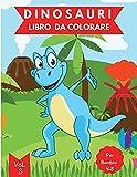 Libro da Colorare di Dinosauri: Età 4-8 Vol. 3 | Libro da colorare dinosauri per bambini | Libro di ...