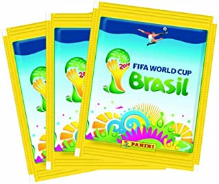 PANINI BRAZIL STICKERS 25 Packs FIFA World Cup Brasil 2014