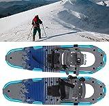 ZAHOYAN Raquetas De Nieve De 30 Pulgadas Raquetas De Nieve Marco De Aluminio Ligero Flexible para Caminar con Hebilla De Liberación Rápida