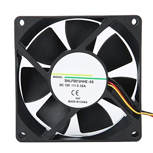 Socobeta Ventilador de disipación de Calor de Enfriador de Alta Velocidad 80000 Horas Disipador de Calor Ventilador de enfriamiento Duradero tamaño pequeño para CPU para PC
