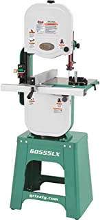 """Grizzly Industrial G0555LX - 14"""" 1 HP Deluxe Bandsaw"""