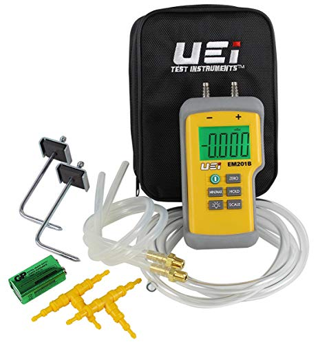 UEi Test Instruments Em201Spkit Static Pressure Kit