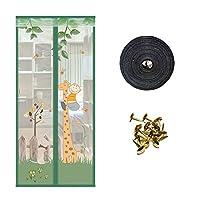 ドア防蚊磁気カーテン、暗号化されたスクリーンドア-E-950*2000 mm