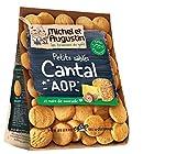 Michel et Augustin - Sablés Apéritifs au Cantal et Noix de Muscade 100g - Lot de 9 x 100g