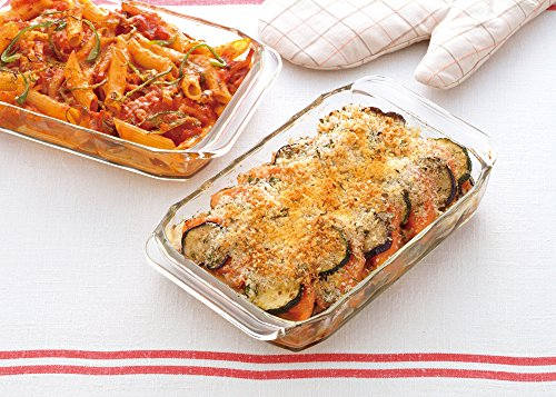 耐熱ガラス食器といえば、「iwaki(イワキ)」が断トツで有名。「iwaki ベーシックシリーズ オーブントースター皿」は、amazonで430以上の評価口コミを得ている人気商品です。  [こちらのイワキの公式サイト](https://www.igc.co.jp/product/toaster_oven_plate_half/)では、この耐熱皿で作ったじゃがいもグラタンレシピも紹介していますよ。美味しそうですね。