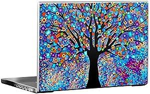 Tree Carnival Ultra Thin Rubberized Skin for 15.4 inch Laptop