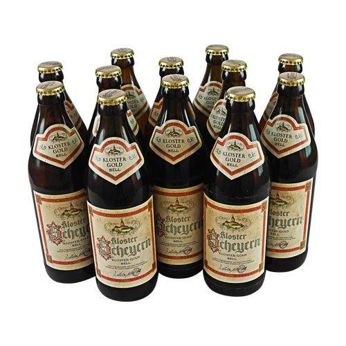 Kloster Scheyern - Kloster-Gold hell (12 Flaschen à 0,5 l / 5,4% vol.)