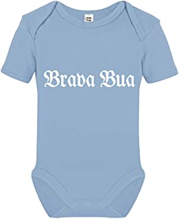 Tachinedas Kreativshop Baby Body Jungen Strampler bayrisch Brava Bua