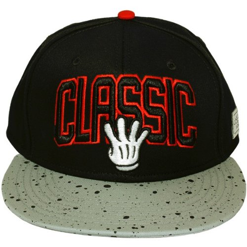 Cayler And Sons - Casquette Snapback Homme Classic - Black/Grey/Red