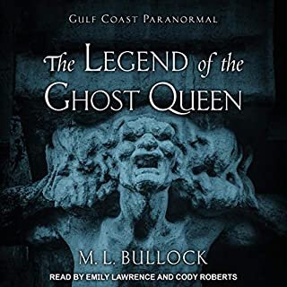 The Legend of the Ghost Queen audiobook cover art