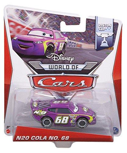 Disney Pixar Cars N2O COLA # 68 (Piston Cup Series #2 of 16) - Voiture Miniature Echelle 1:55