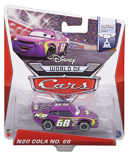Disney Pixar Cars N2O COLA # 68 (Piston Cup Series #2 of 16) - Voiture Miniature Echelle 1:55