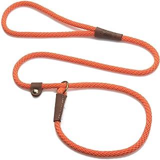 سلسلة توجيه للكلاب بدون رباط من ميندوتا، مقاس 0.95 سم × 1.83 متر، لون برتقالي