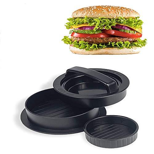 Machine à Hamburger, Presse à Hamburger antiadhésive pour Machine à Barbecue, Fabrication de galettes de Hamburger, kit de Moule à Tarte pour Barbecue.BRANDLESS (A)