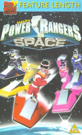 Power Rangers In Space - The Movie