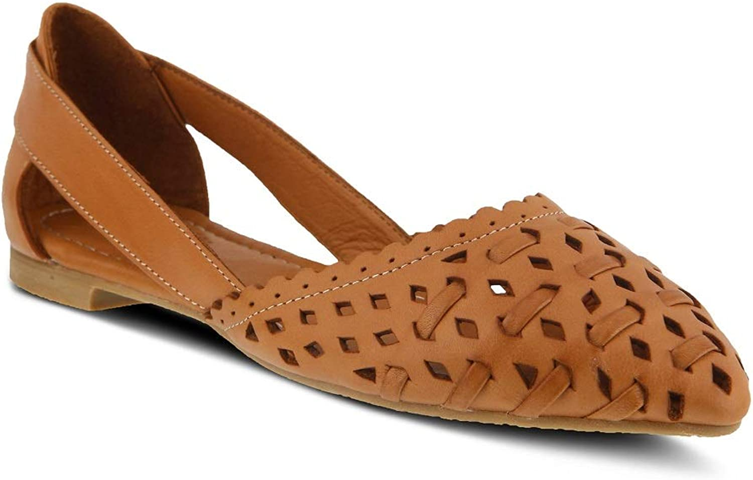Spring Step Women's Delorse shoes   color Camel   Leather shoes
