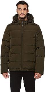 Men's Heavy Duty Insulated Winter Down Parka Jacket...