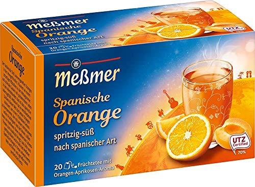 Meßmer Ländertee- Spanische, Orange, 50 gramm (20 Teebeutel)
