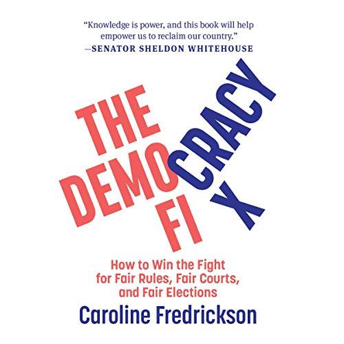 The Democracy Fix audiobook cover art