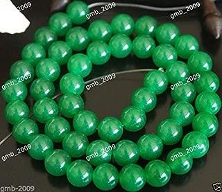 FidgetFidget 4mm 6mm 8mm 10mm 12mm 14mm Natural Green Emerald Round Gems Loose Beads 15