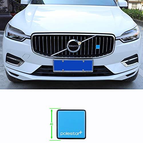 D28JD Logo-Emblem für Kühlergrill Metallbuchstaben Aufkleber für V-olvo XC60 xc40 XC90 S90 v90 s60 v40,Northstar,Ordinary