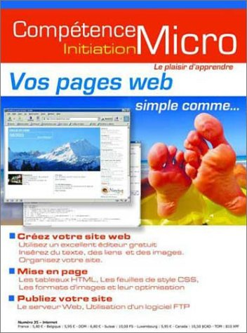 Vos pages Web, simple comme...